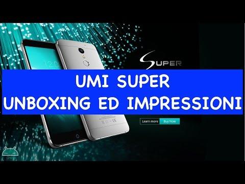 Unboxing Umi Super e prime impressioni