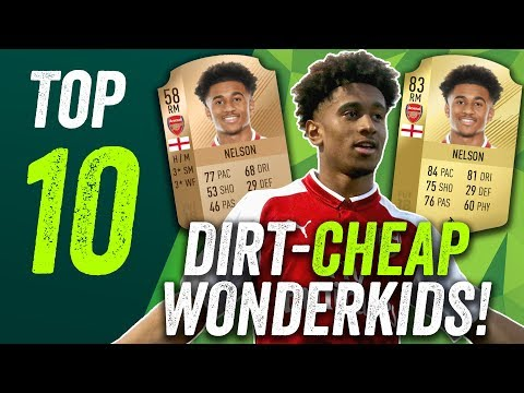 FIFA 18 Wonderkids! The Best BARGAIN Players For Under One Million!