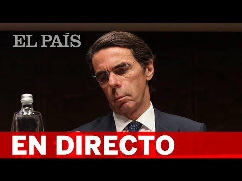 DIRECTO: AZNAR comparece en el Congreso por la 'caja B' del PP