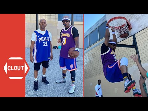 "Gillie Da King & Wallo 2-On-2 ""Basketball Game"" Against Youngins!"
