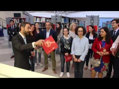 Inauguración de la Exposición 'El Esplendor de la Letra' en la Universidad Pablo de Olavide