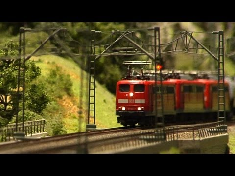 Largest Model Train of the World in Hamburg
