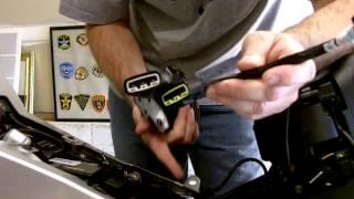 10. Triumph Daytona 600 Regulator Rectifier upgrade