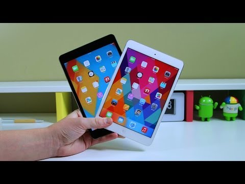 retina display - iPad mini vs iPad mini with Retina Display - Full Comparison Subscribe for more iPad mini with Retina Display content: http://smrt.so/UOhfly In this video, w...