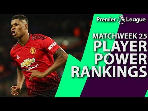 Video: Man United's Marcus Rashford at top of Premier League Power Rankings | NBC Sports