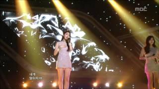 음악중심 - Davichi - Don't Say Goodbye, 다비치 - 안녕이라고 말하지마, Music Core 20111008