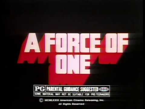 A Force of One (1979) Trailer