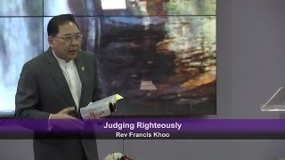 Judging Righteously
