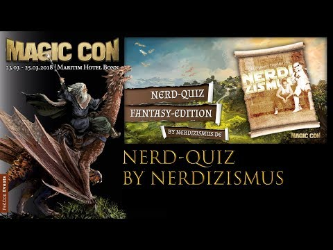 MagicCon (2018) Samstag Panel Nerd Quiz by Nerdizismus
