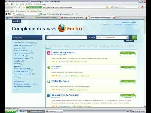 Video 4 de Mozilla Firefox: Cómo utilizarlo