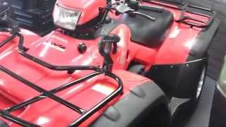 10. 2011 Honda Foreman Rubicon @ Coopers used stock
