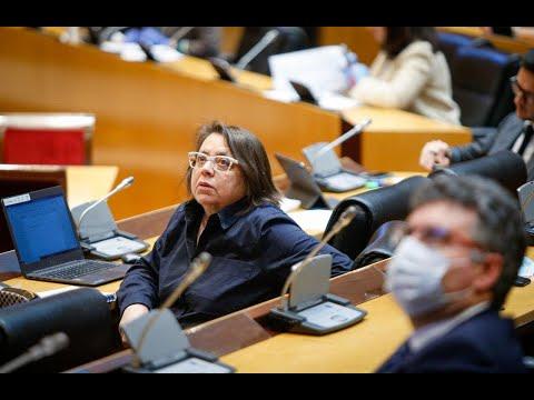 Intervención de Pilar Marcos en la Comisión de Trabajo, Inclusión, Seguridad Social y Migraciones.
