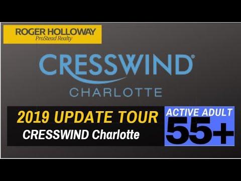 Cresswind Charlotte NC 55+ Retirement Communities 2019 Update