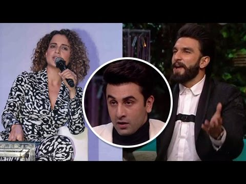 Kangana Ranaut SHOCKING REACTION To Ranveer Singh