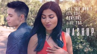 Video Say You Won't Let Go/Someone Like You MASHUP - Sam Tsui + Vidya Vox download in MP3, 3GP, MP4, WEBM, AVI, FLV Mei 2017