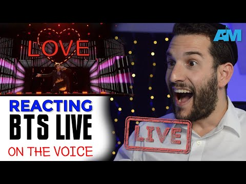 VOCAL COACH reacts to BTS on THE VOICE