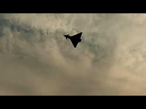Frecce tricolori a Terracina. Tragedia all'air show, eurofighter precipita in mare!