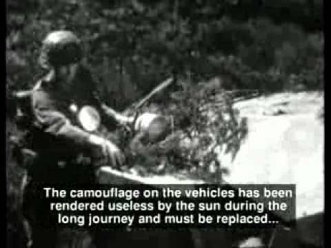 Video. SGM Film instructivo alemán de 1944. Infantería y apoyo blindado