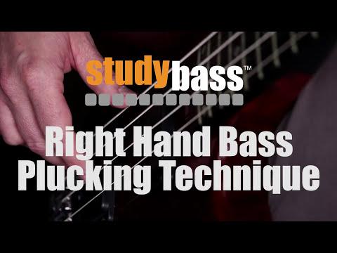 Plucking: Right Hand Bass Technique