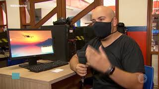 Curso de pilotagem de drone atrai profissionais de várias áreas em Tupã