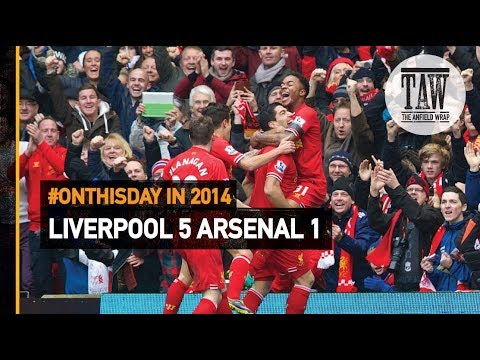 Crucial Title Clashes: Liverpool 5 Arsenal 1 | #OnThisDay