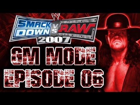 SmackDown vs Raw 2007 GM Mode - Episode 6: Backlash