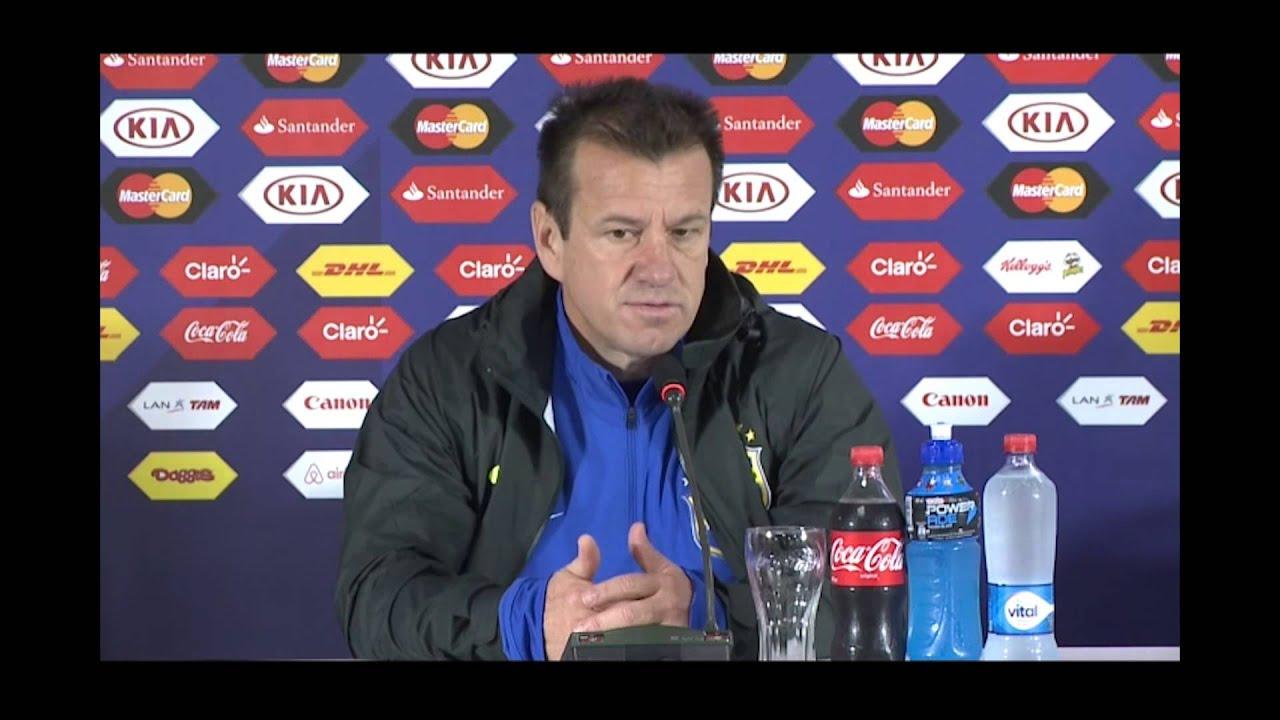"""Copa América 2015: Dunga: """"O Brasil ficou 40 anos sem ganhar uma  Copa América"""" #CopaAmericaChile2015"""
