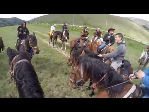 GoPro Hero 4 black | Horseback riding trip in the mountains of Scanno, Italy (2016)