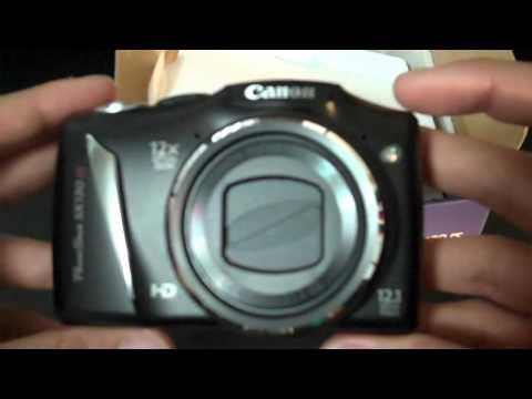 Canon Powershot SX130 IS Unboxing