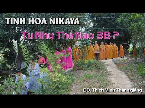 Tinh Hoa NIKAYA - Tu Như Thế Nào 3B - ĐĐ. Thích Minh Thành