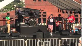 Joey Batts & Them perform at I AM Festival 2015
