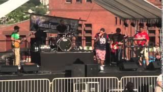Joey Batts & Them perform at I AM Festival 2015