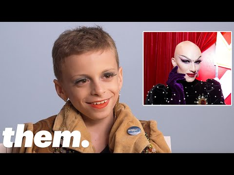 Desmond Is Amazing Throws Cute Shade At RuPaul's Drag Queens | LGBTQuiz | Them.