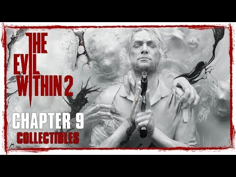 The Evil Within 2 • Chapter 9 Collectibles • Slides, Files, Memories, Keys, Mysterious & Pouches