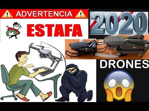 EL DRONE DE LA ESTAFA 2020 OJO CON ESTA MODALIDAD en ESPAÑOL