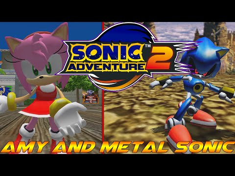 Sonic Adventure 2 PC - Amy And Metal Sonic Mods [60 FPS]