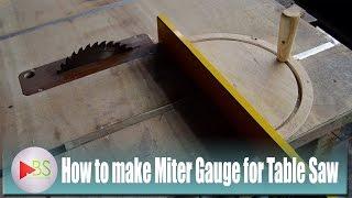 Video How to Make Miter Gauge fo Table Saw MP3, 3GP, MP4, WEBM, AVI, FLV September 2018
