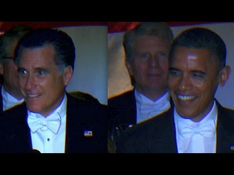 romney - Mitt Romney and President Obama speak at the 67th Annual Alfred E. Smith Memorial Foundation Dinner in New York. For more CNN videos, check out our YouTube c...