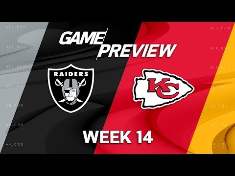 Video: Oakland Raiders vs. Kansas City Chiefs | NFL Week 14 Game Preview | NFL Playbook