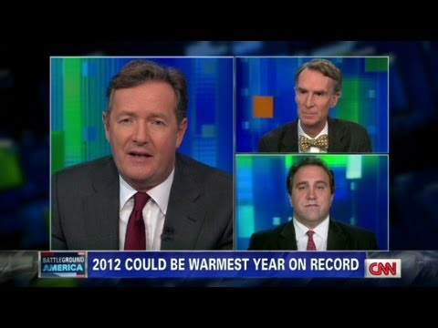 Climate Skeptic - On opposite ends of the issue, Bill Nye and Marc Morano debate Global Warming, and CO2 For more CNN videos on YouTube, check out http://www.youtube.com/cnn O...