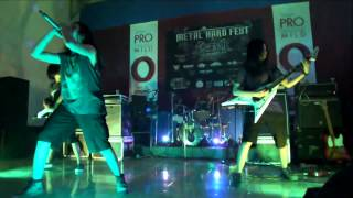 Girlzeroth Live in Metal Hard Fest Kuningan 2015