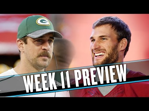 Video: NFL Week 11 preview: The Packers will struggle until Aaron Rodgers eats cheese again | Uffsides