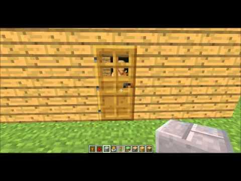 Minecraft Gizli Oda Gizli Sandık Yapımı