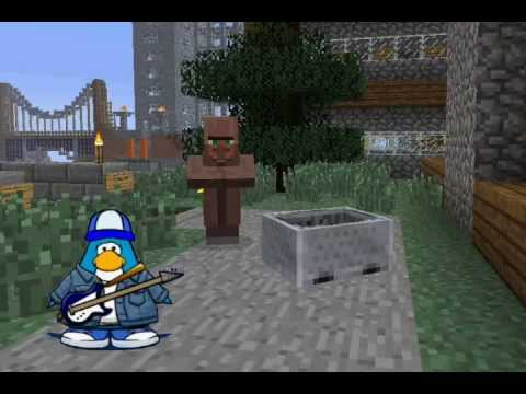 Club Penguin Meets Minecraft 4: Chase in the City