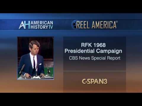 1968 Presidential Election: RFK Announces He's Running