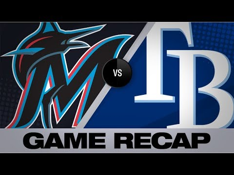 Video: Adames' go-ahead HR in 8th paces Rays to win | Marlins-Rays Game Highlights 8/3/19