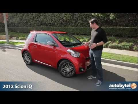 2012 Scion iQ: Video Road Test and Review