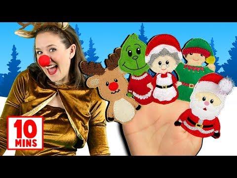 Christmas Finger Family, Jingle Bells & more Christmas Songs for Kids! Popular Christmas Songs - Thời lượng: 9 phút, 50 giây.