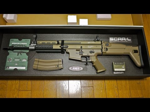 Wal-Mart's Fn Scar-L airsoft Unbox/Review 1000 SUB's !!!
