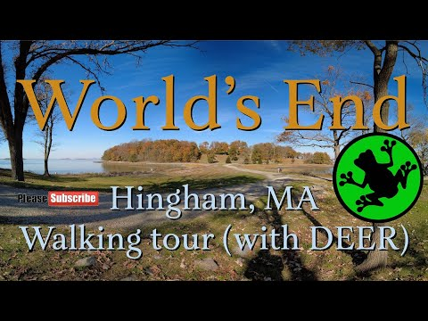 World's End, Hingham, Walking Tour - [With Deer]